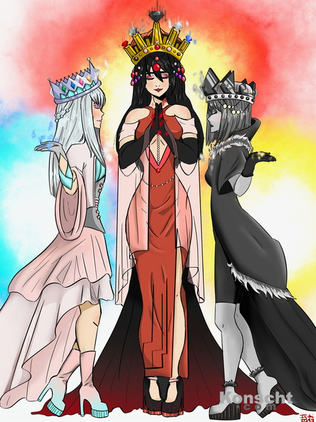 The three queens of the diamonds.jpg