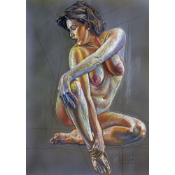 Nude drawing 21
